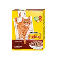 Friskies Adult Cat Etli ve tavuklu 10 kg