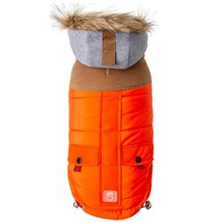 GF Pet Lodge Parka Köpek Montu Medium Turuncu